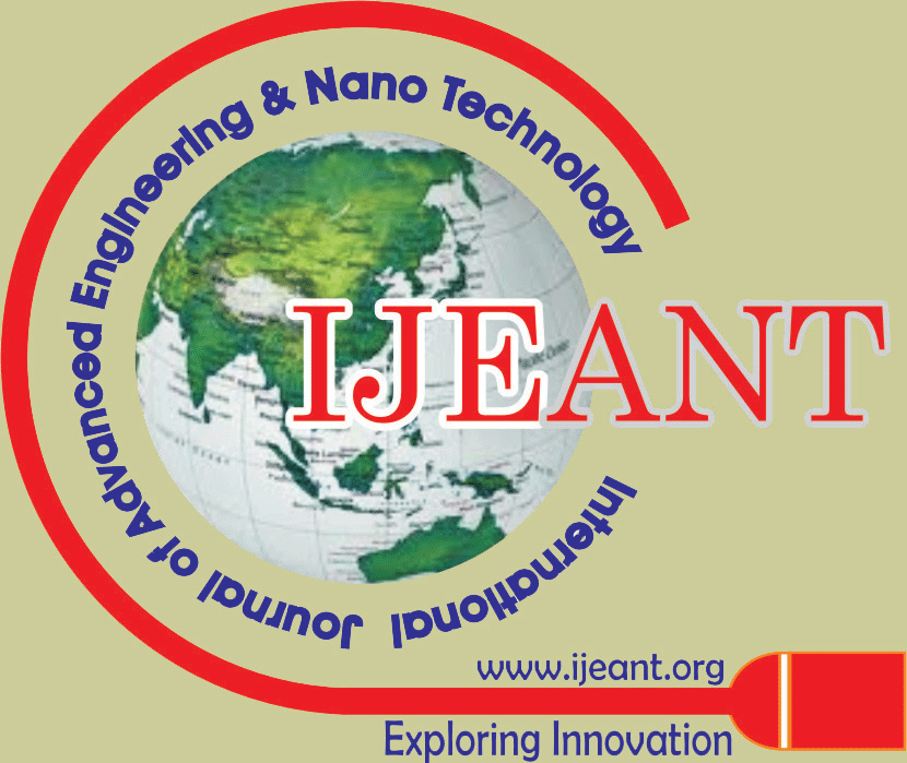 International Journal of Advanced Engineering and Nano Technology (TM)